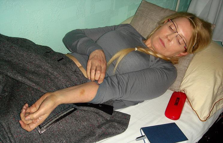 Юлия Тимошенко в Качановской женской колонии №54. 2012 год