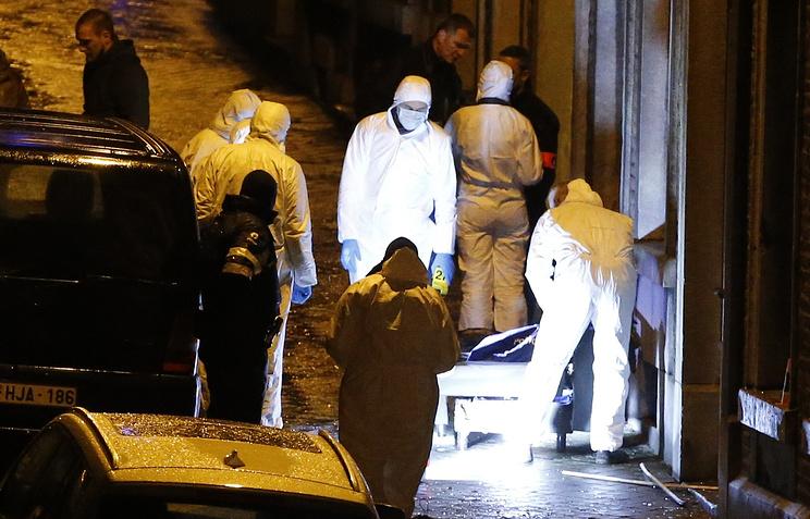 Спецоперация по задержанию исламистов в городе Вервье, Бельгия