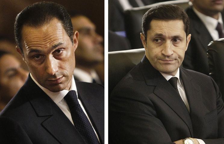 Гамаль и Аля Мубарак