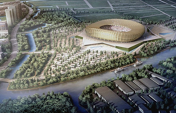"Проект стадиона ""Балтика"""