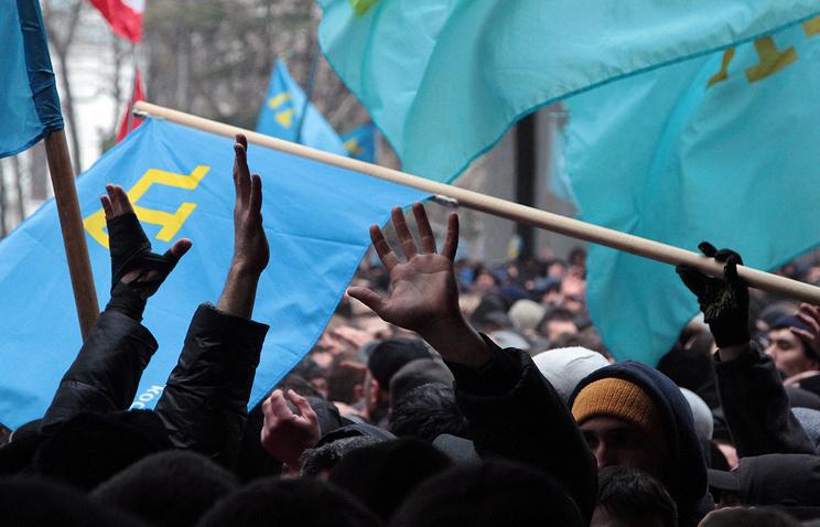 Столкновения у здания Верховного совета Крыма, февраль 2014 года