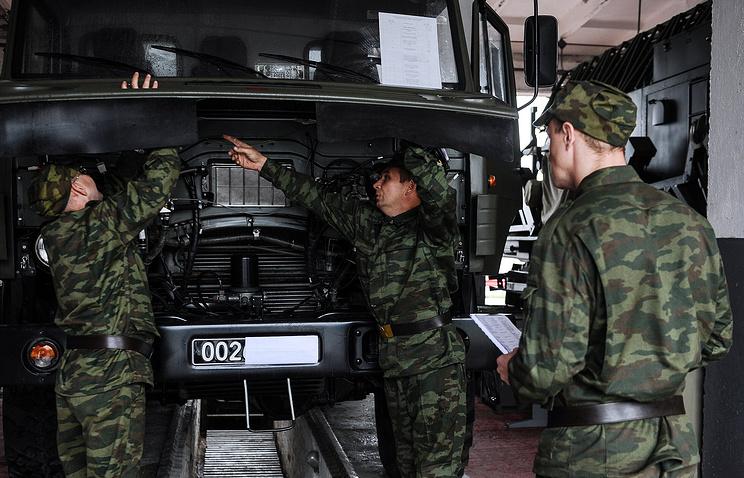 Сборы военнослужащих запаса в Свердловской области, 2014 год