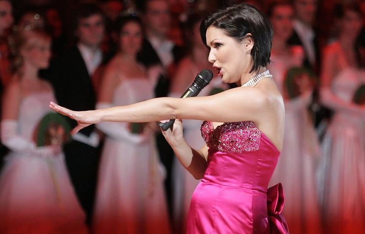 Певица Анна Нетребко