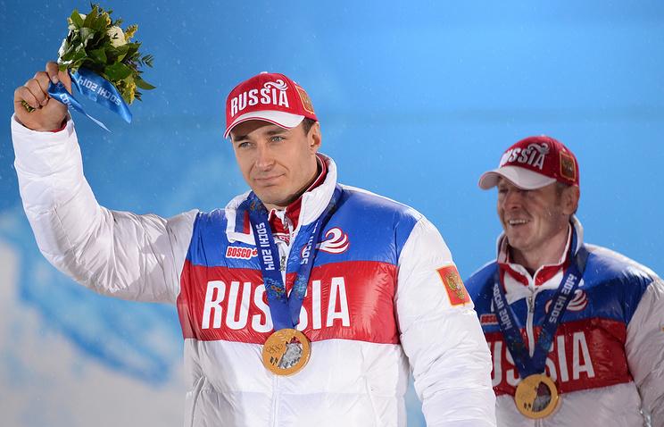 Алексей Воевода (на переднем плане)