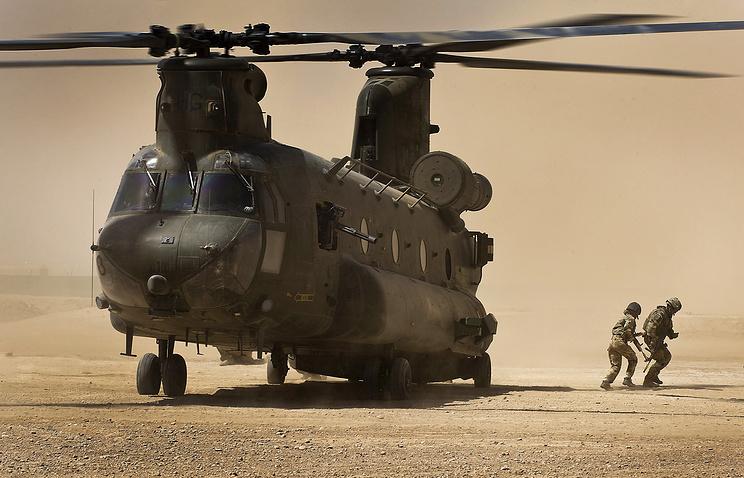 Вертолет CH-47 Chinook