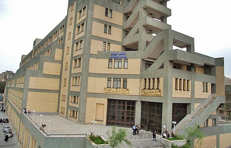 Корпус машиностроения и электроники Технологического университета Амир Кабира