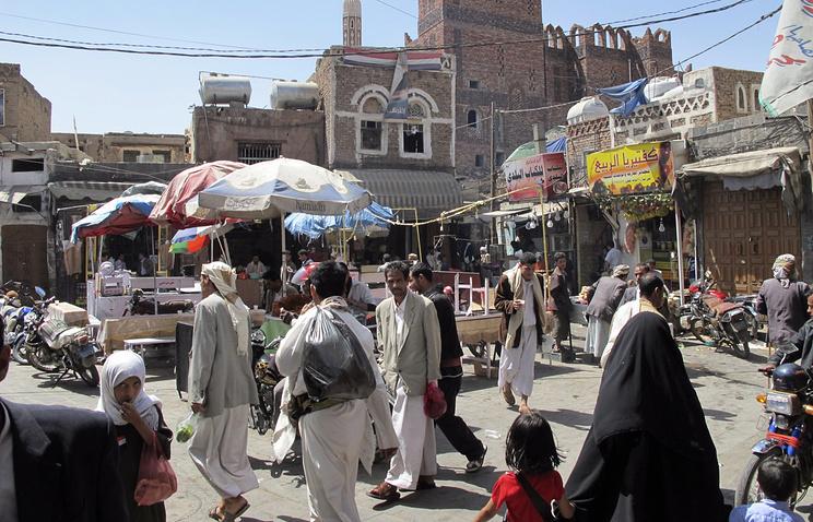 Столица Йемена Сана