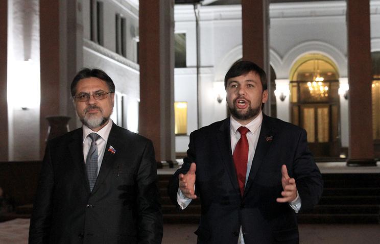 Владислав Дейнего и  Денис Пушилин