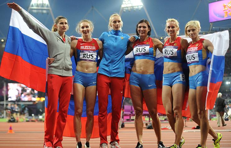 Российские легкоатлетки на Олимпийских играх 2012 года в Лондоне