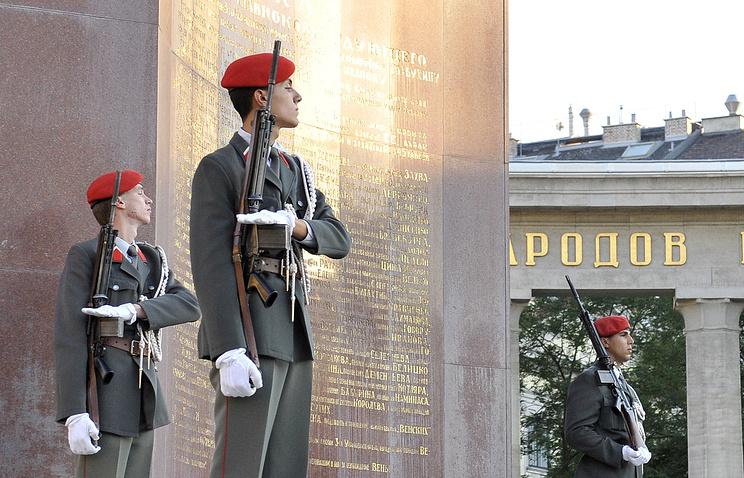 Памятник советскому Воину-освободителю в Вене