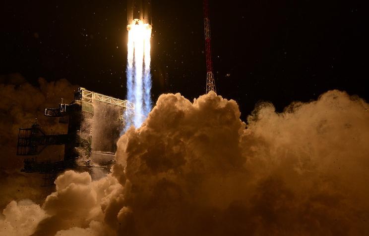 """Первый запуск РН """"Ангара-А5"""" с космодрома Плесецк, 23 декабря 2014 года"""
