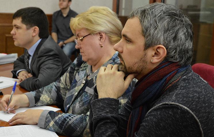 Дмитрий Лошагин и его адвокаты: Зоя Озорнина и Сергей Лашин