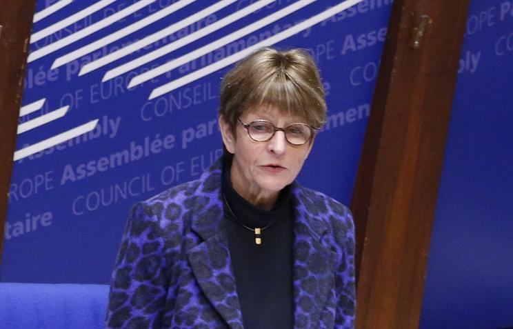 Председатель Парламентской ассамблеи Совета Европы Анн Брассер