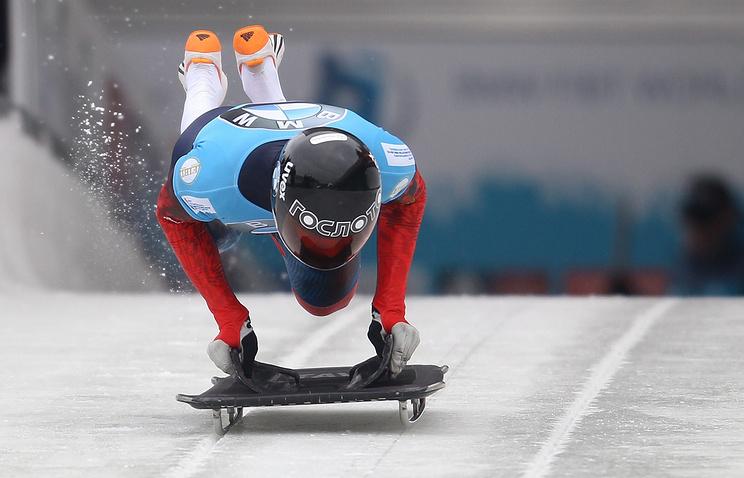 Победитель Олимпийских игр в Сочи Александр Третьяков