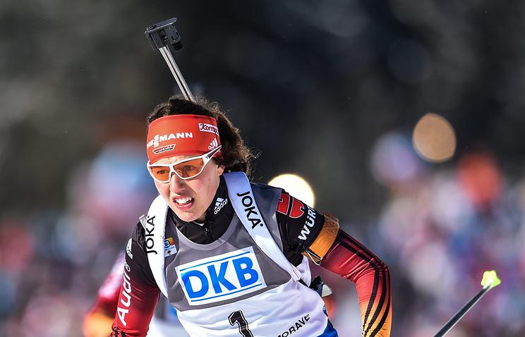 Биатлонистка сборной Германии Лаура Дальмайер