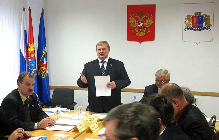 Выступление Вячеслава Сверчкова во время  заседания Ивановской городской Думы
