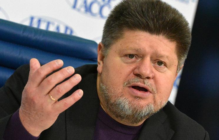 Главный нарколог России Евгений Брюн во время пресс-конференции