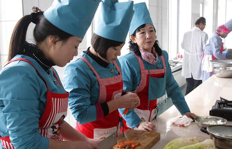 Кулинарный фестиваль в Пхеньяне, 2012 год