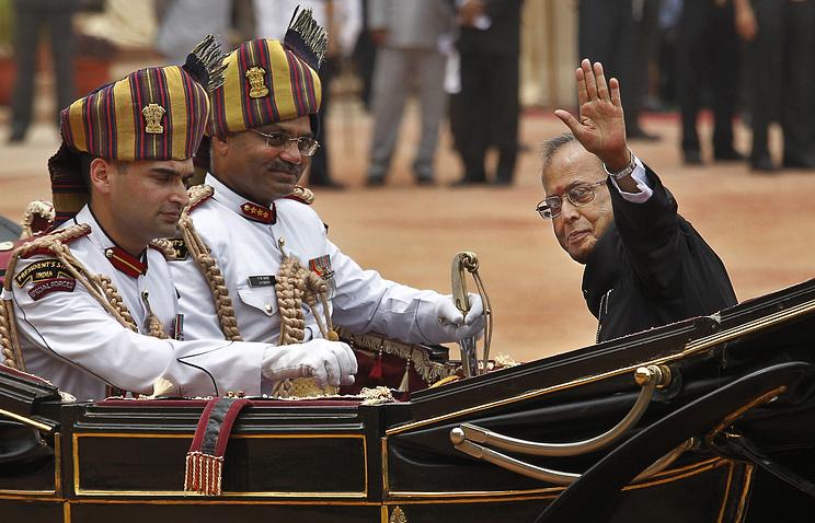 Президент Индии Пранаб Мукерджи