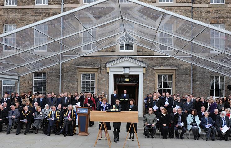 Мероприятия по перезахоронению останков короля Англии Ричарда III в Лестерском университете
