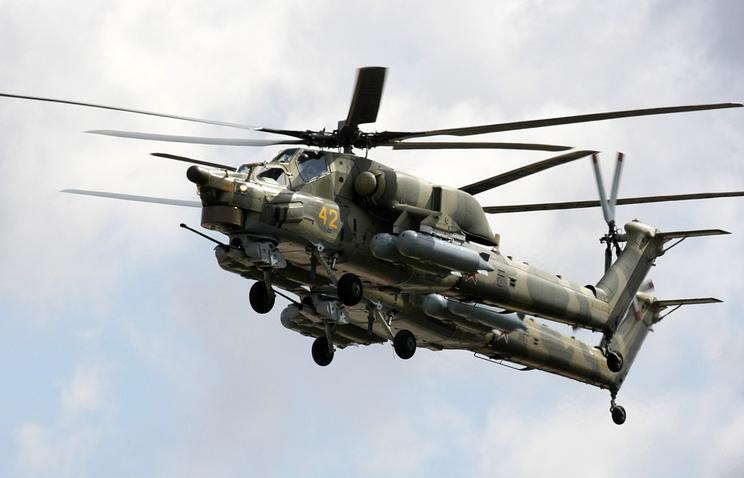 """Вертолеты Ми-28Н """"Ночной охотник"""""""