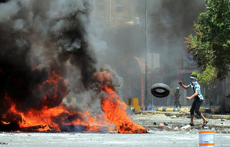 Демонстрации в Таизе