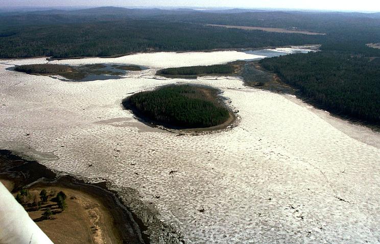 Волчихинское водохранилище. Свердловская область