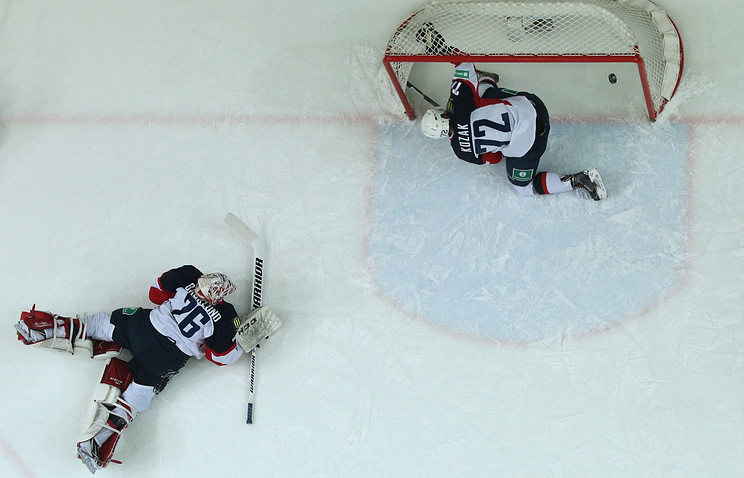 "Хоккеисты ""Слована"""