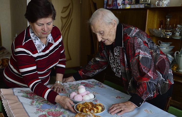Социальный работник и участница Великой Отечественной войны
