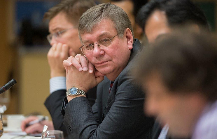 Исполнительный директор МВФ от России Алексей Можин
