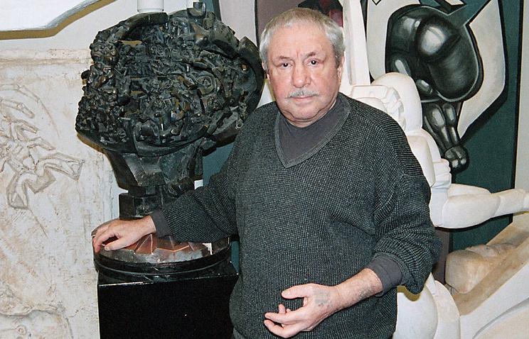 Эрнст Неизвестный, 2000 год
