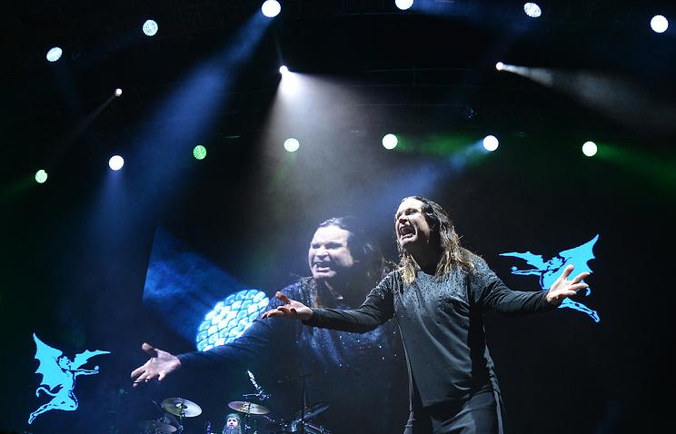 Black Sabbath в Москве, 2014 год