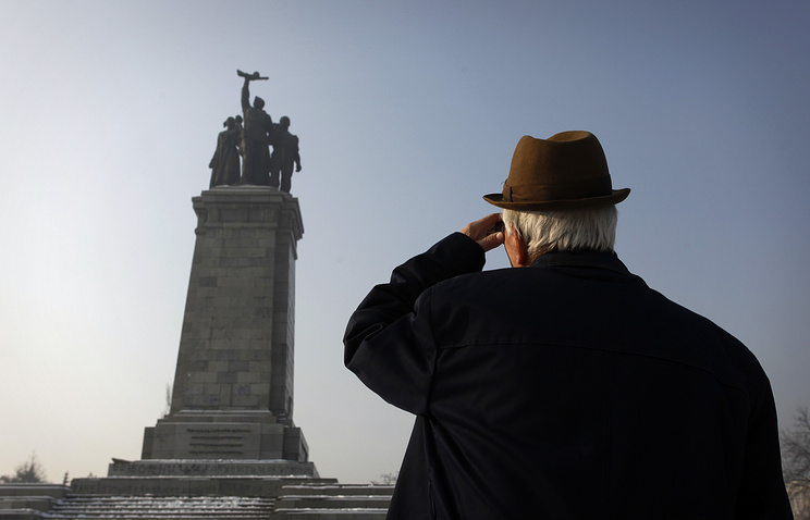 Памятник солдатам Красной Армии в Софии