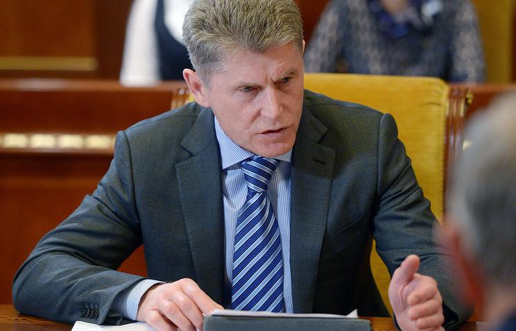 Врио губернатора Сахалинской области Олег Кожемяко