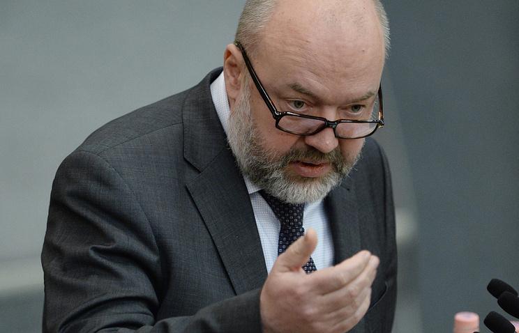 Глава комитета Госдумы по гражданскому, уголовному, арбитражному и процессуальному законодательству Павел Крашенинников