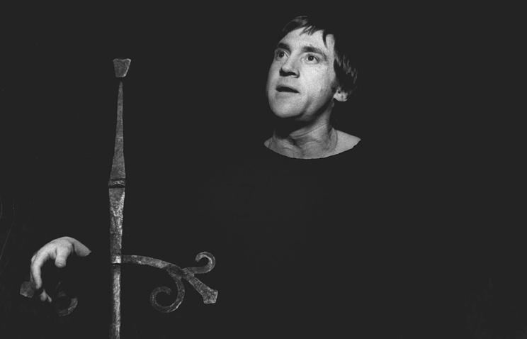 Владимир Высоцкий в роли Гамлета, 1977 год