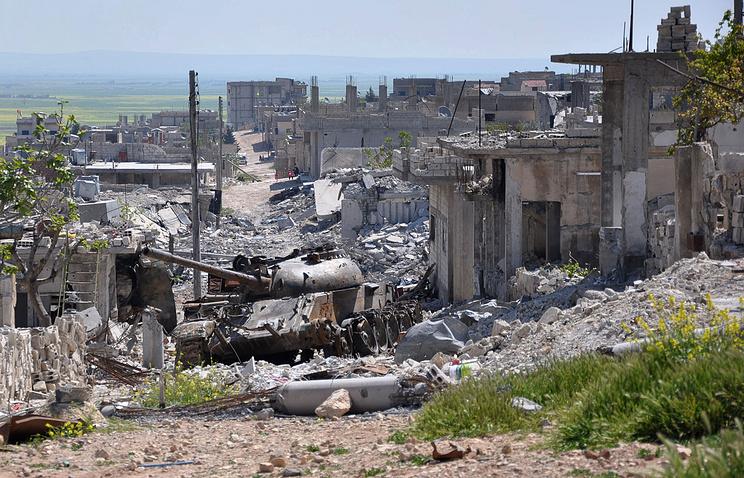 Кобани, Сирия