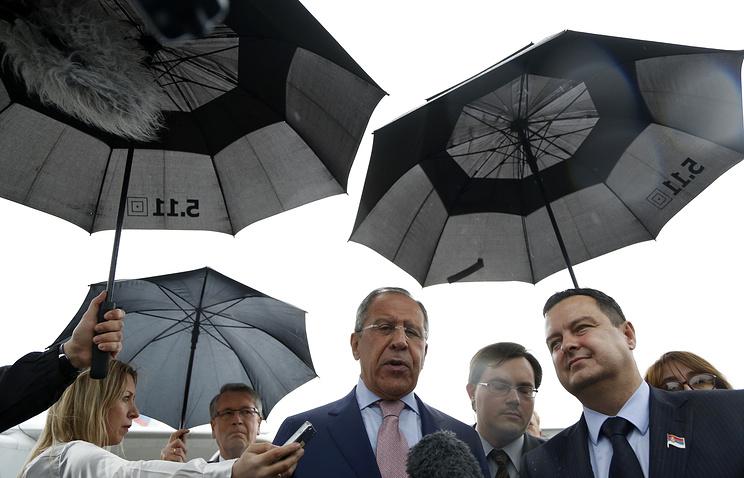 Визит Сергея Лаврова в Сербию, 2014 год