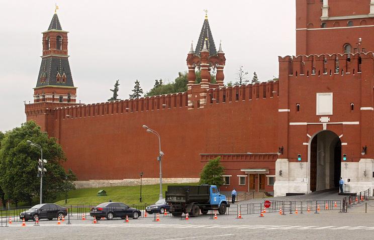 Спасские ворота Кремля