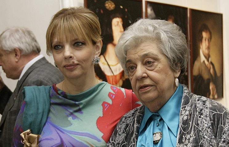 Алла Киреева с дочерью Екатериной Рождественской