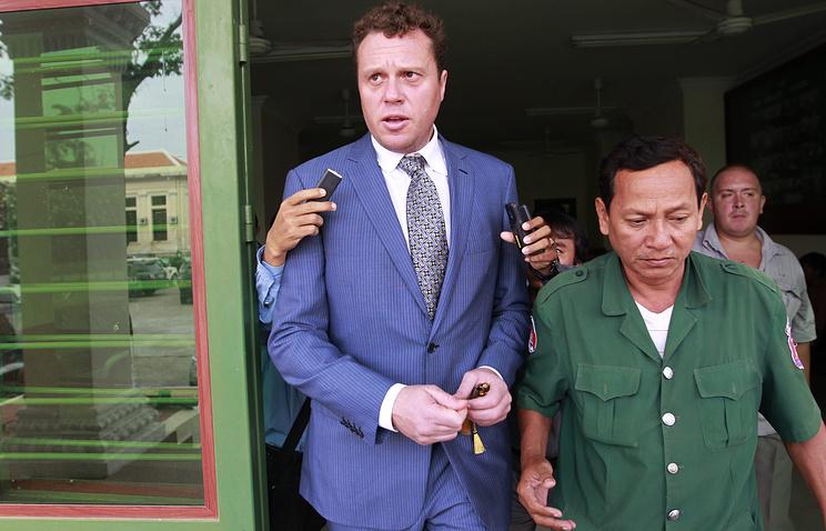 Сергей Полонский в Камбодже