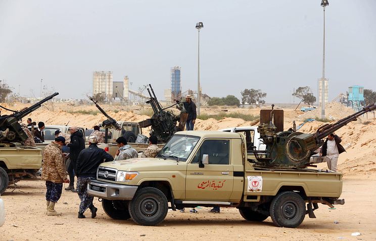 """Операция против боевиков """"Исламского государства"""""""