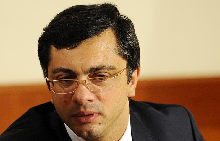 Первый вице-президент Союзмаша, депутат Госдумы Владимир Гутенев