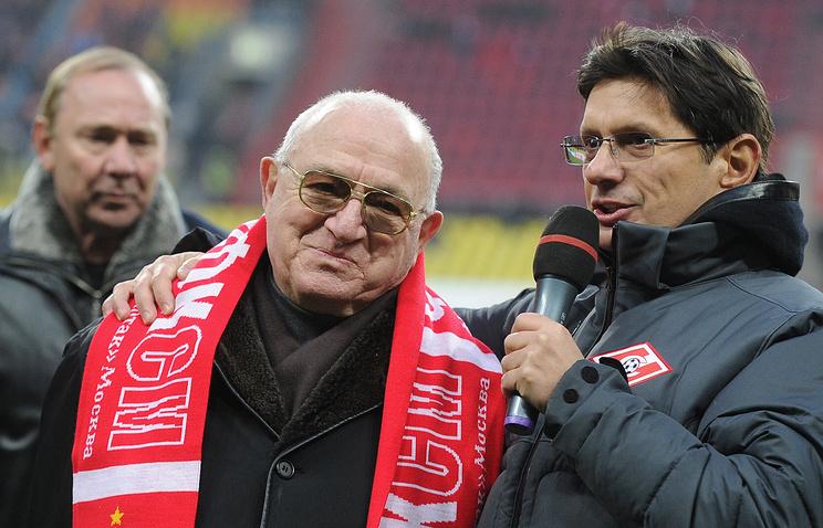 Никита Симонян и Леонид Федун (слева направо)