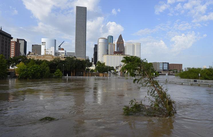 Последствия наводнение в Хьюстоне, Техас