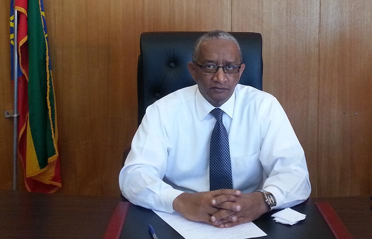 Посол Эфиопии в Москве Грум Абай Тешоме