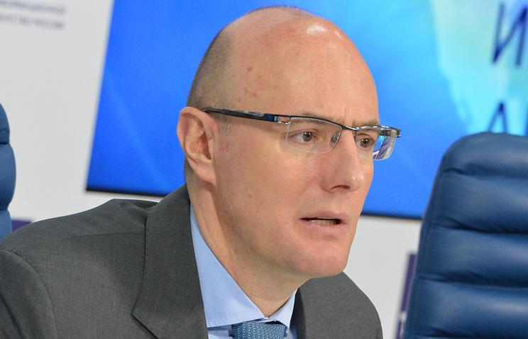 """Председатель правления холдинга """"Газпром-медиа"""" Дмитрий Чернышенко"""