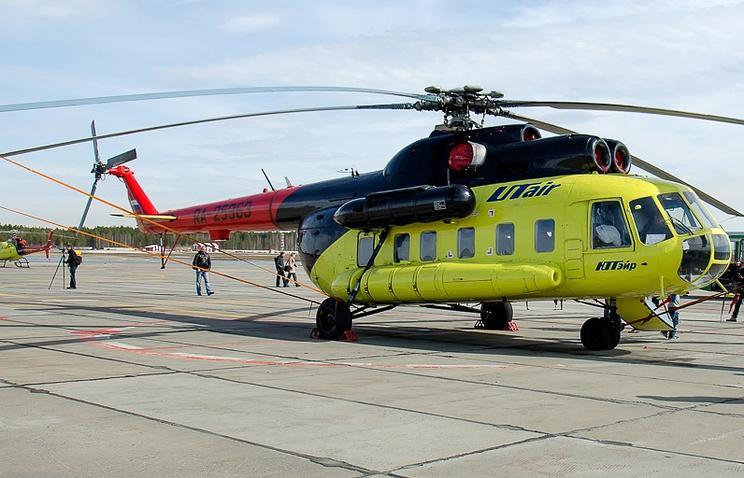 Архив. Вертолет Ми-8 авиакомпании UTair