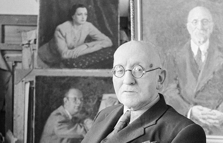 Игорь Грабарь, 1956 год