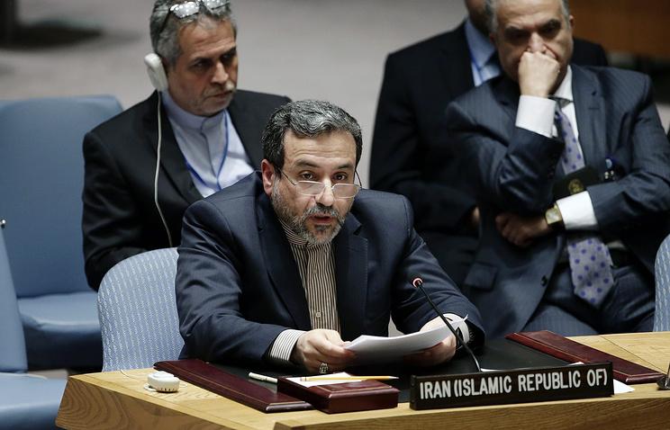 Замминистра иностранных дел Ирана Аббас Арагчи